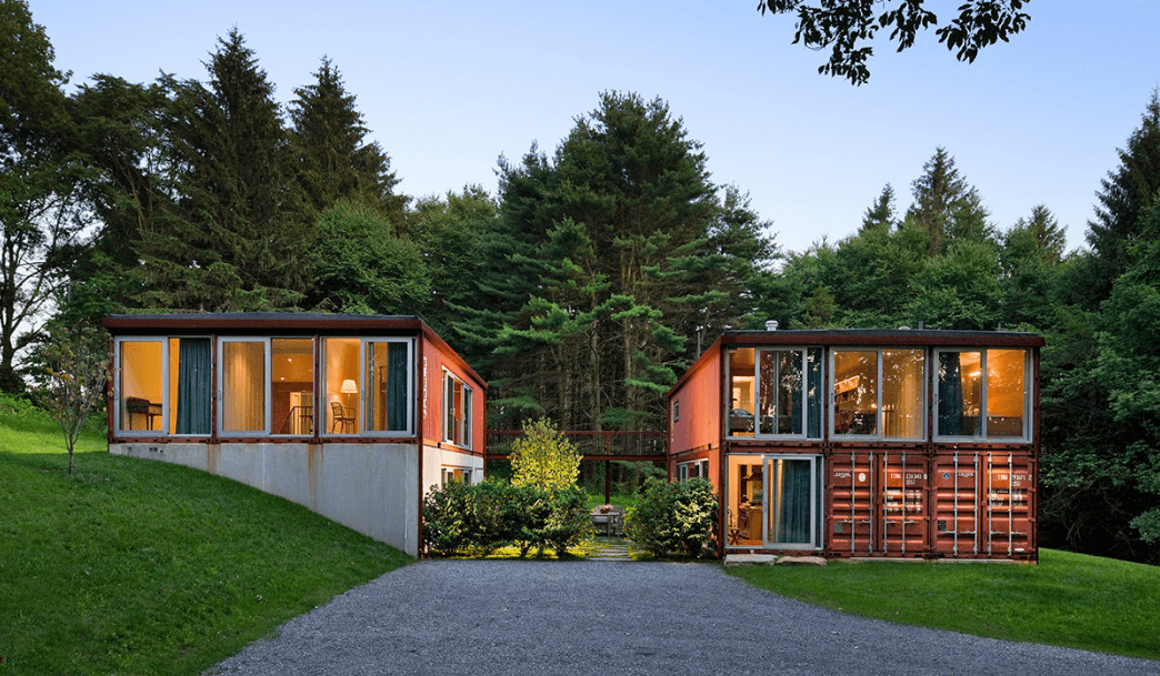 7 Fabricated Steel Shipping Container Houses That Are Simply Genius