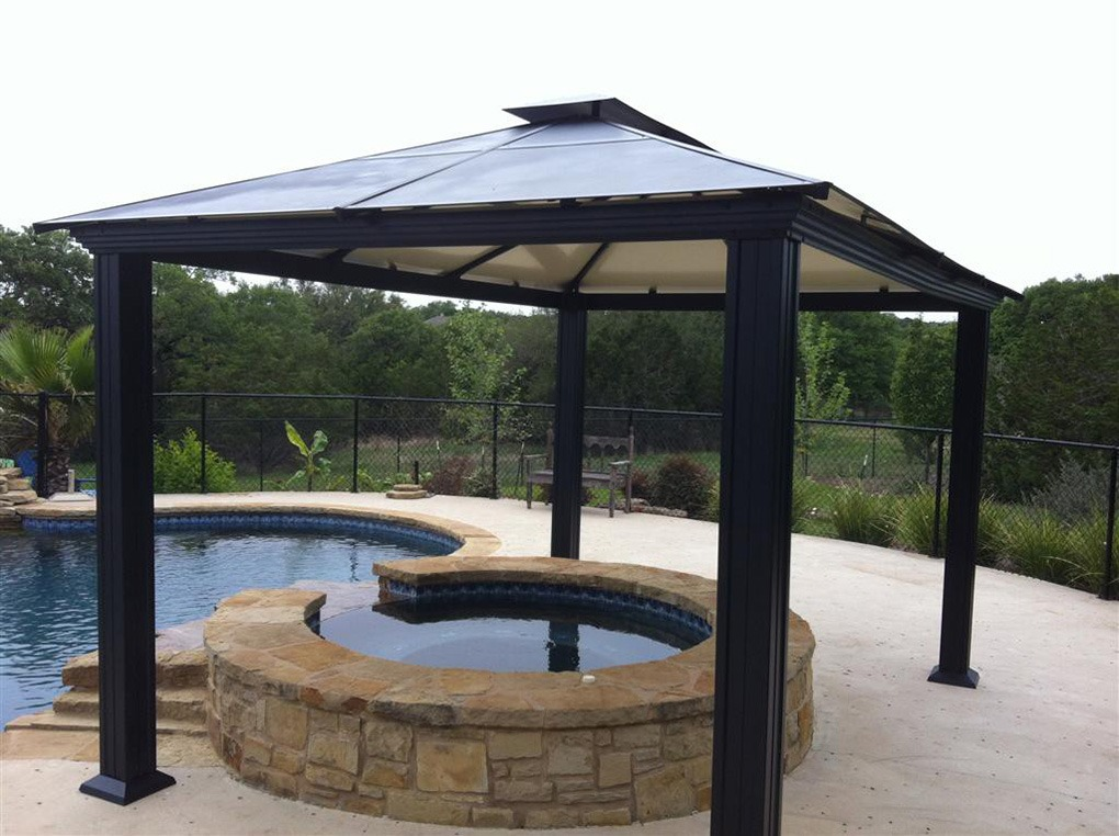 steel gazebo outdoor settings steel fabrication services. Black Bedroom Furniture Sets. Home Design Ideas