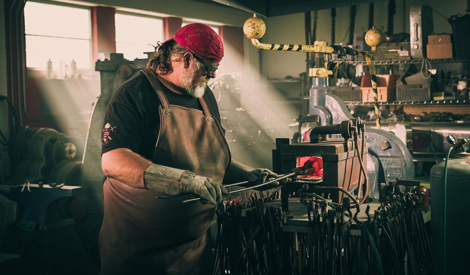 Tony Swatton – The Biggest Steel Fabricator in the World
